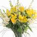 Bouquet de Printemps avec Lys Jaunes [02]