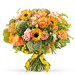 Bouquet de Printemps Orange - Prestige (45 cm) [01]