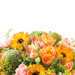 Orange Spring Bouquet - Prestige (45 cm) [02]