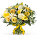 Yellow White Spring Bouquet - Prestige (45 cm) [01]