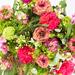 Bouquet de Fleurs Roses Pour la Fête des Mères - Medium (30 cm) [02]