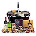 Panier Luxueux avec Délicatesses, Vin & Veuve Clicquot [01]