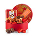 Neuhaus Chocolates in Round Christmas Gift Box [01]