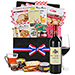 Gifts 2019 : French Wicker Deluxe & Red Wine [01]