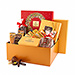Godiva Christmas Gold Gift Box Chocolates at the Office [01]