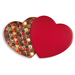 Neuhaus Valentine Luxury Leather Heart Box, 80 pcs [01]