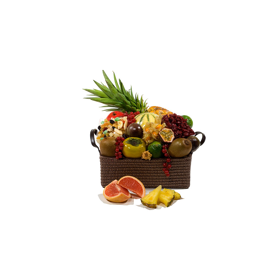 corbeille de fruits exotiques cadofrance. Black Bedroom Furniture Sets. Home Design Ideas