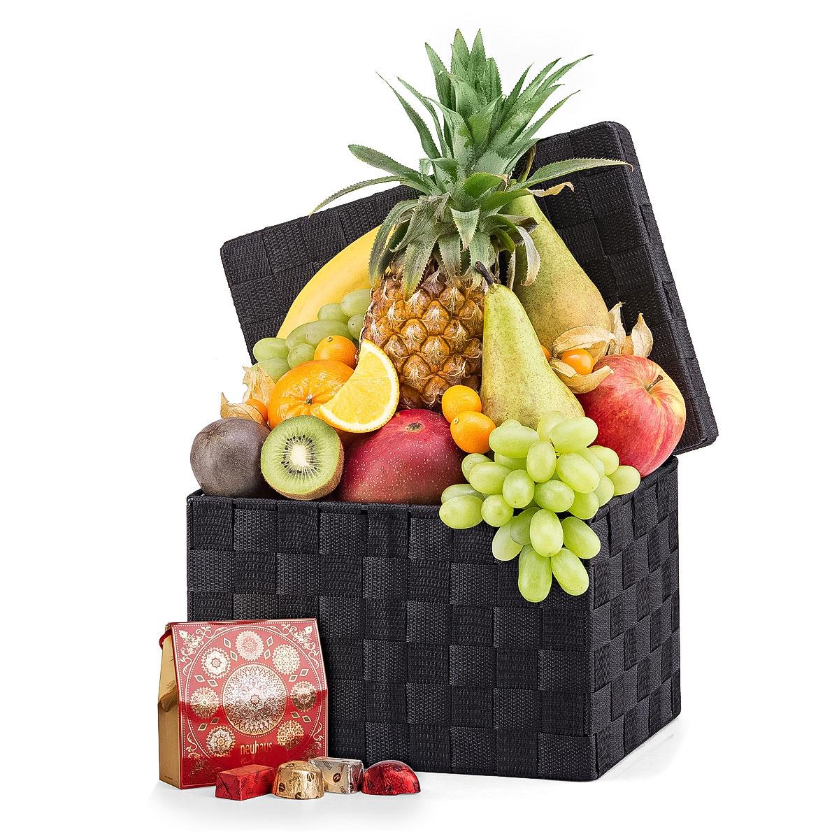 corbeille de fruits neuhaus pralines cadofrance. Black Bedroom Furniture Sets. Home Design Ideas