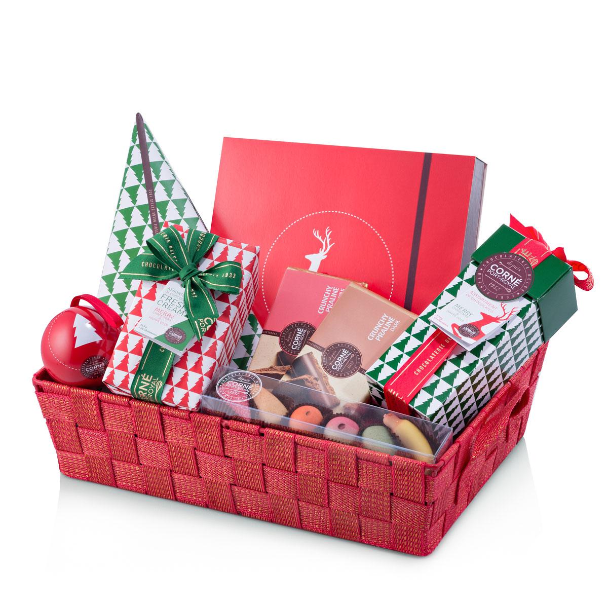 Panier Cadeau Ou Panier Cadeau : Corn? port royal panier cadeau chocolats no?l cadofrance