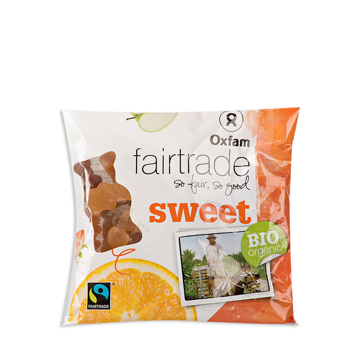 Panier Cadeau Bonbon : Panier cadeau de bonbons fair trade oxfam cadofrance