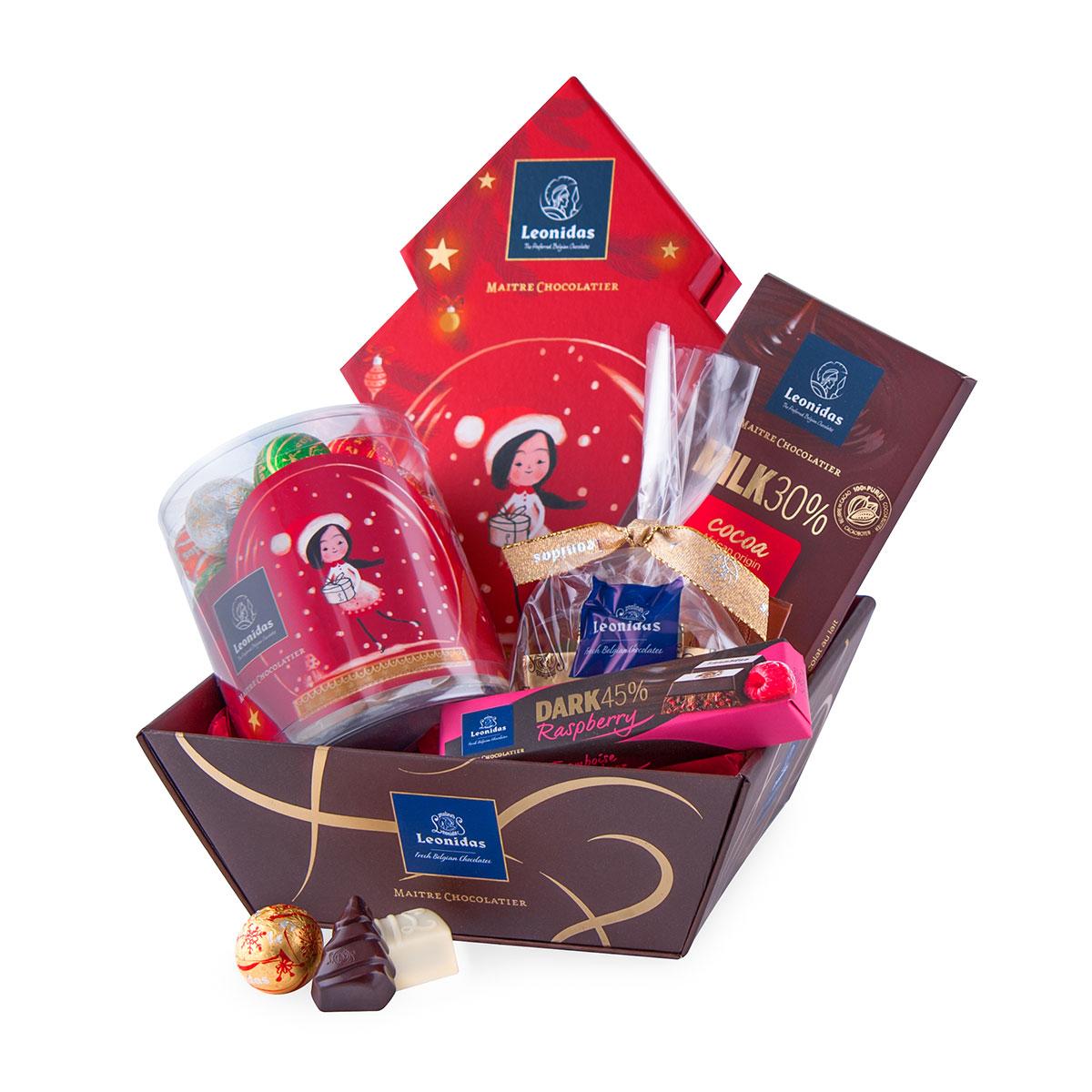 leonidas coffret cadeau chocolats de no l cadofrance. Black Bedroom Furniture Sets. Home Design Ideas